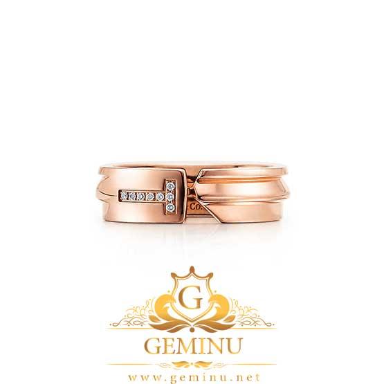 حلقه جواهر سفید