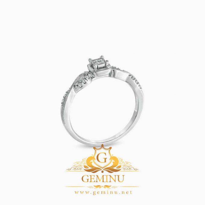 انگشتر طلا الماس