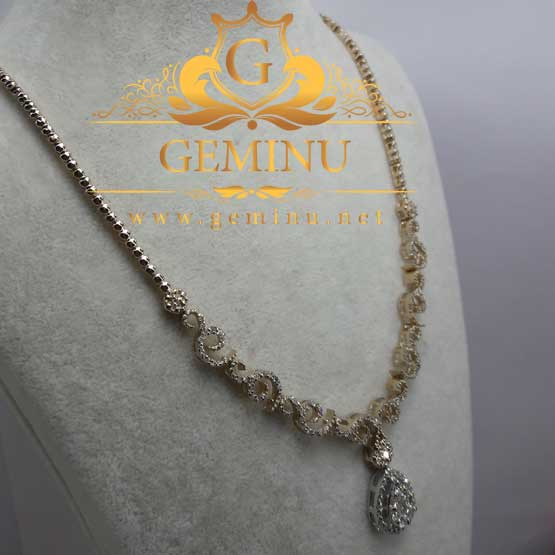گردنبند طلا جواهر