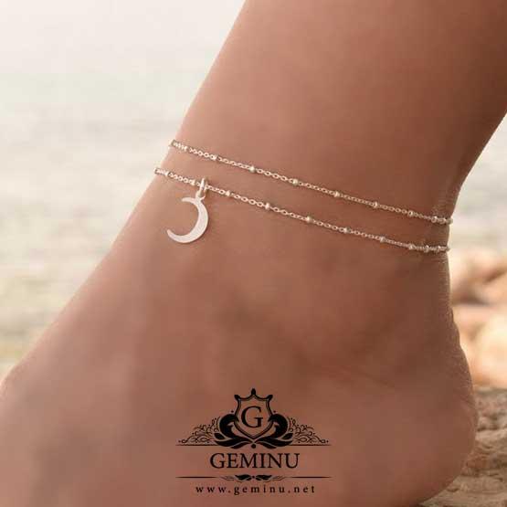 پابند طلا هلال ماه