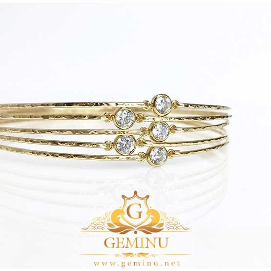 دستبند طلا برلیان