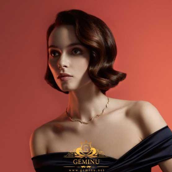گردنبند طلا کم اجرت | گردنبند طلا زنانه کم اجرت | گردنبند جواهر کم اجرت | گردنبند جواهر زنانه