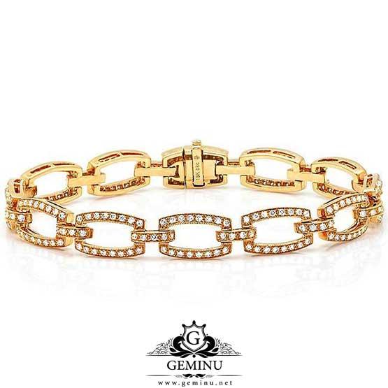دستبند طلا توخالی   دستبند توخالی طلا   دستبند طلا برلیان   دستبند طلا نگین دار