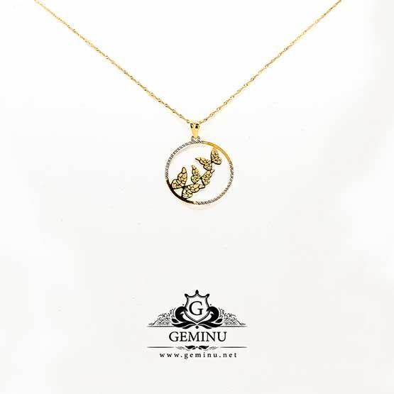 پلاک طلا سه قلب   گردنبند طلا قلب   آویز طلا قلب   مدال طلا قلب