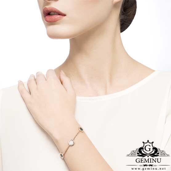 دستبند طلا بولگاری | دستبند طلا مارک بولگاری | دستبند طلا طرح بولگاری | دستبند طلا مدل بولگاری | قیمت دستبند طلا بولگاری