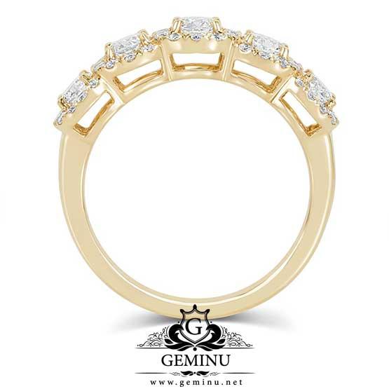 انگشتر جواهر طلا زرد | انگشتر طلا زرد | انگشتر برلیان طلا زرد | انگشتر طلا برلیان | انگشتر طلا الماس
