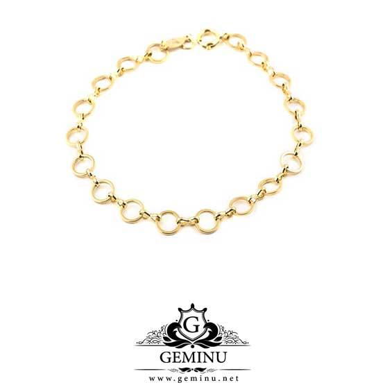 پابند طلا حلقه ای | پابند طلا