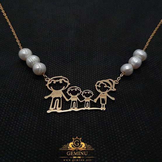 گردنبند طلا کودکانه | گردنبند طلا بچه گانه| گردنبند طلا بچه | گردنبند طلای بچه گانه | قیمت گردنبند طلا کودک