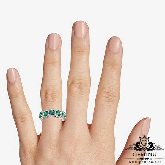 انگشتر طلا سفید با نگین زمرد   انگشتر طلا سفید   انگشتر طلا نگین زمرد   انگشتر طلا سفید زمرد   انگشتر طلا سفید برلیان   انگشتر طلا سفید جواهر