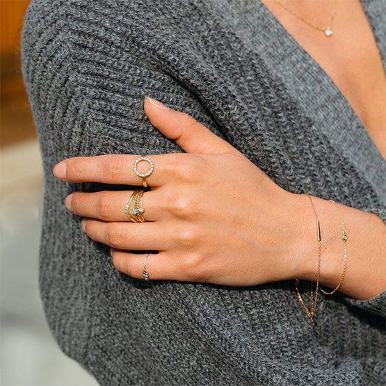 دستبند طلا ظریف زنانه | دستبند طلا ظریف دخترانه | دستبند طلا ظریف | دستبند طلا سبک | دستبند طلا بدون نگین | دستبند طلا ارزان قیمت