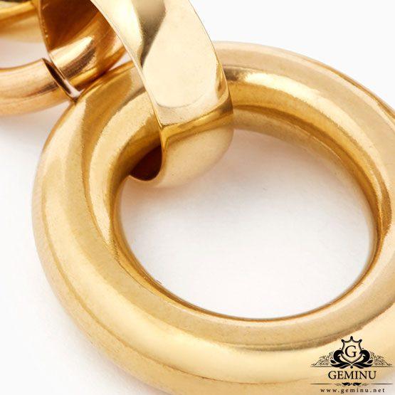 گوشواره طلا زرد بدون نگین | گوشواره طلا زرد | گوشواره طلا بدون نگین | گوشواره طلا بدون نگین دخترانه