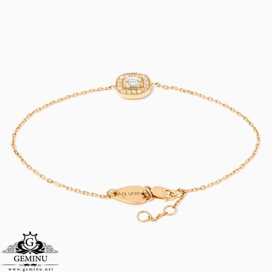 دستبند جواهر زنجیری دخترانه | دستبند جواهر زنجیری | دستبند جواهر دخترانه | دستبند طلا نگین دار | دستبند جواهر برلیان | دستبند جواهر سبک
