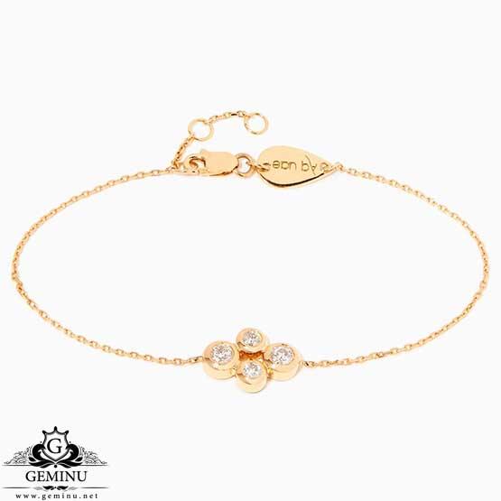 دستبند جواهر سبک وزن | دستبند جواهر سبک | دستبند جواهر ظریف | دستبند طلا زرد زنجیری | مدل دستبند جواهر جدید