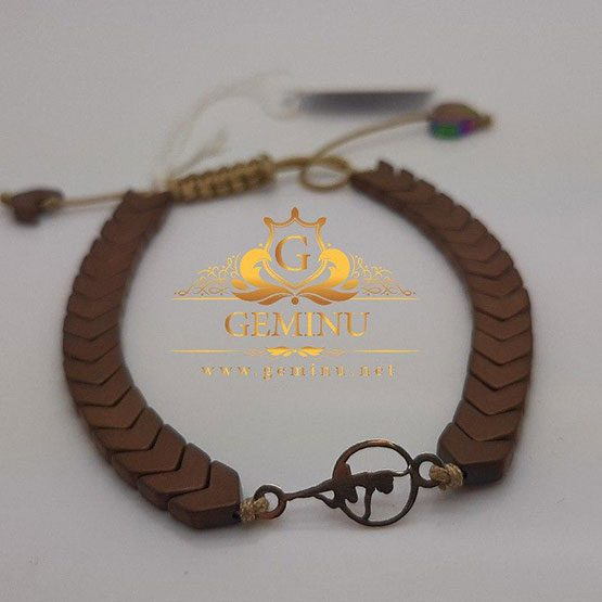 دستبند مهره ای | دستبند طلا مهره ای