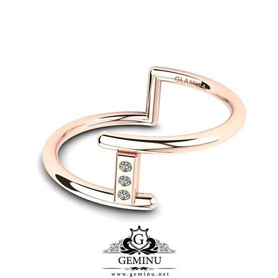 انگشتر طلا دخترانه شیک جدید | مدل انگشتر طلا جدید و شیک | عکس انگشتر طلا شیک جدید | مدل انگشتر طلا جدید شیک | انگشتر جواهر دخترانه