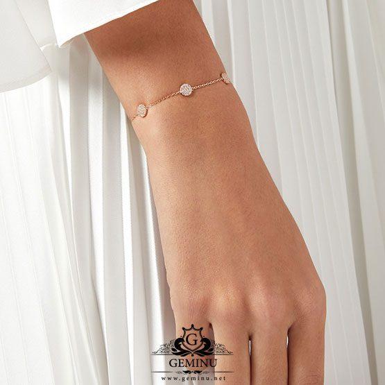 دستبند طلا سفید دخترانه | دستبند طلا سفید | دستبند جواهر طلا سفید | دستبند جواهر دخترانه | دستبند طلا برلیان | دستبند طلا سفید دخترانه شیک | دستبند طلا سفید زنانه با قیمت | دستبند طلا سفید ظریف