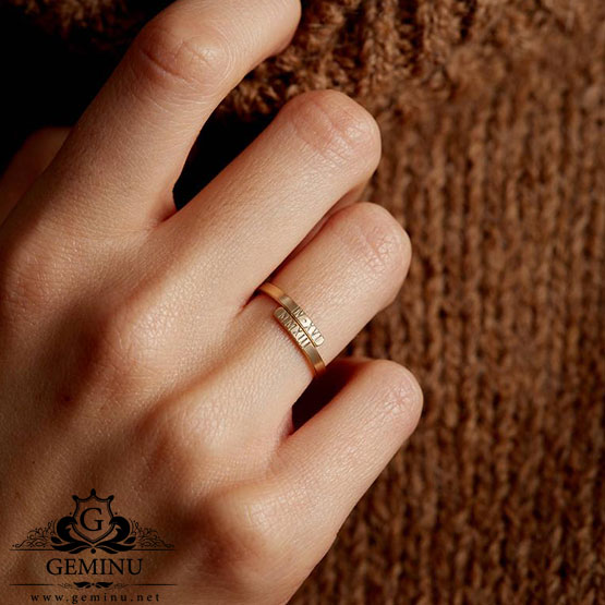 انگشتر طلا جدید 2020   انگشتر طلا جدید   انگشتر طلا جدید دخترانه   انگشتر طلا جدید سبک