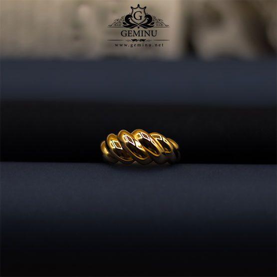 انگشتر طلا پرستیژ | انگشتر طلا زرد | انگشتر طلا بدون نگین | انگشتر طلا زرد بدون نگین