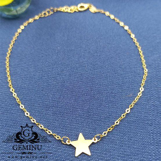 پابند ستاره دار   پابند ستاره ای   پابند ستاره طلا   پابند طلا دخترانه   پابند طلا زیبا   پابند جواهر زنانه