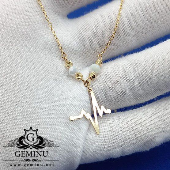 گردنبند ضربان قلب | دستبند ضربان قلب | گردنبند ظریف | گردنبند سفارشی | خرید گردنبند طرح قلب | قیمت گردنبند ضربان قلب