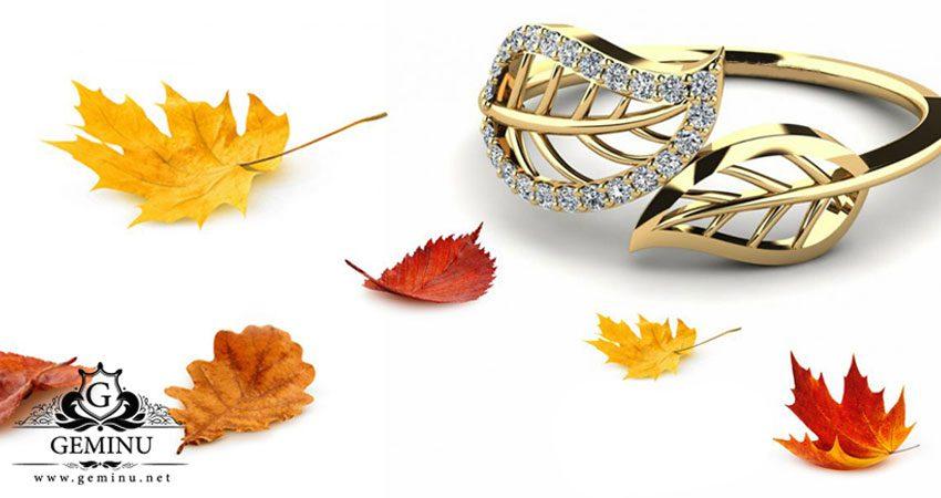 طلا و جواهر مناسب فصل پاییز