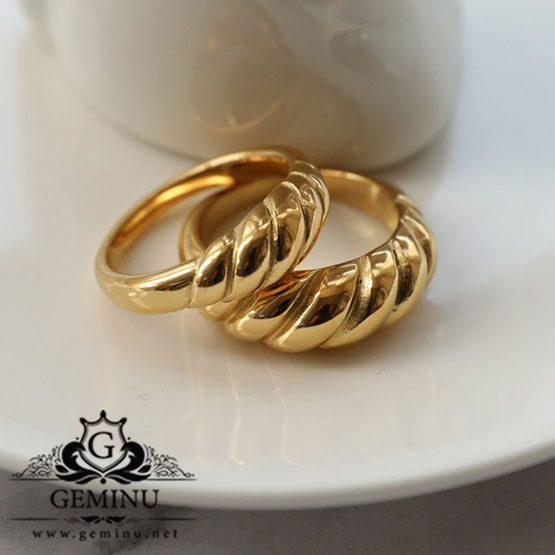 انگشتر مدل پیچ   انگشتر طلا شیک   انگشتر طلا زنانه   انگشتر طلا جدید   انگشتر طلا فانتزی   قیمت انگشتر طلا