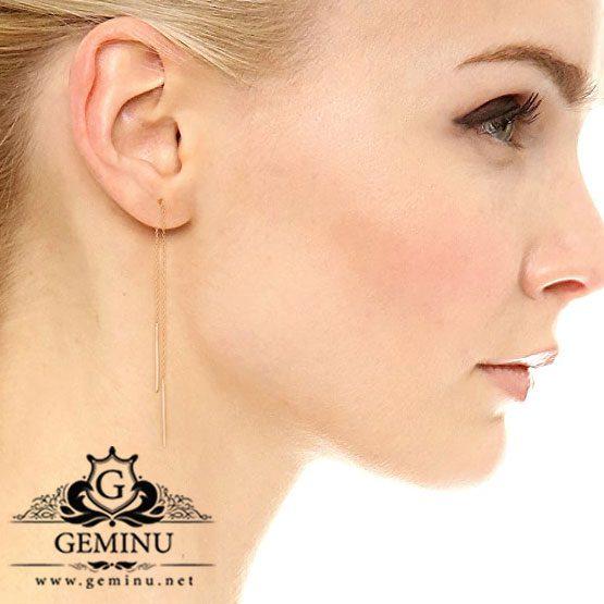 گوشواره بخیه ای | گوشواره آویزی | گوشواره خاص | گوشواره جدید زنانه | گوشواره طلا دخترانه | گوشواره سفارشی | گوشواره طلا سبک